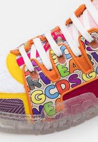 GCDS - PATCHWORK SKATE  - Tenisky - multicolor - 5