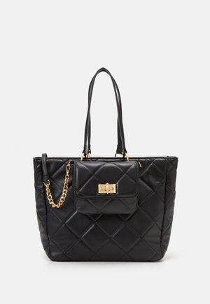 IBOECIA SET - Tote bag - jet black/gold-coloured