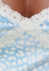 Bershka - Linne - light blue - 4