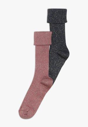2 PACK - Sokken - blau/rosé
