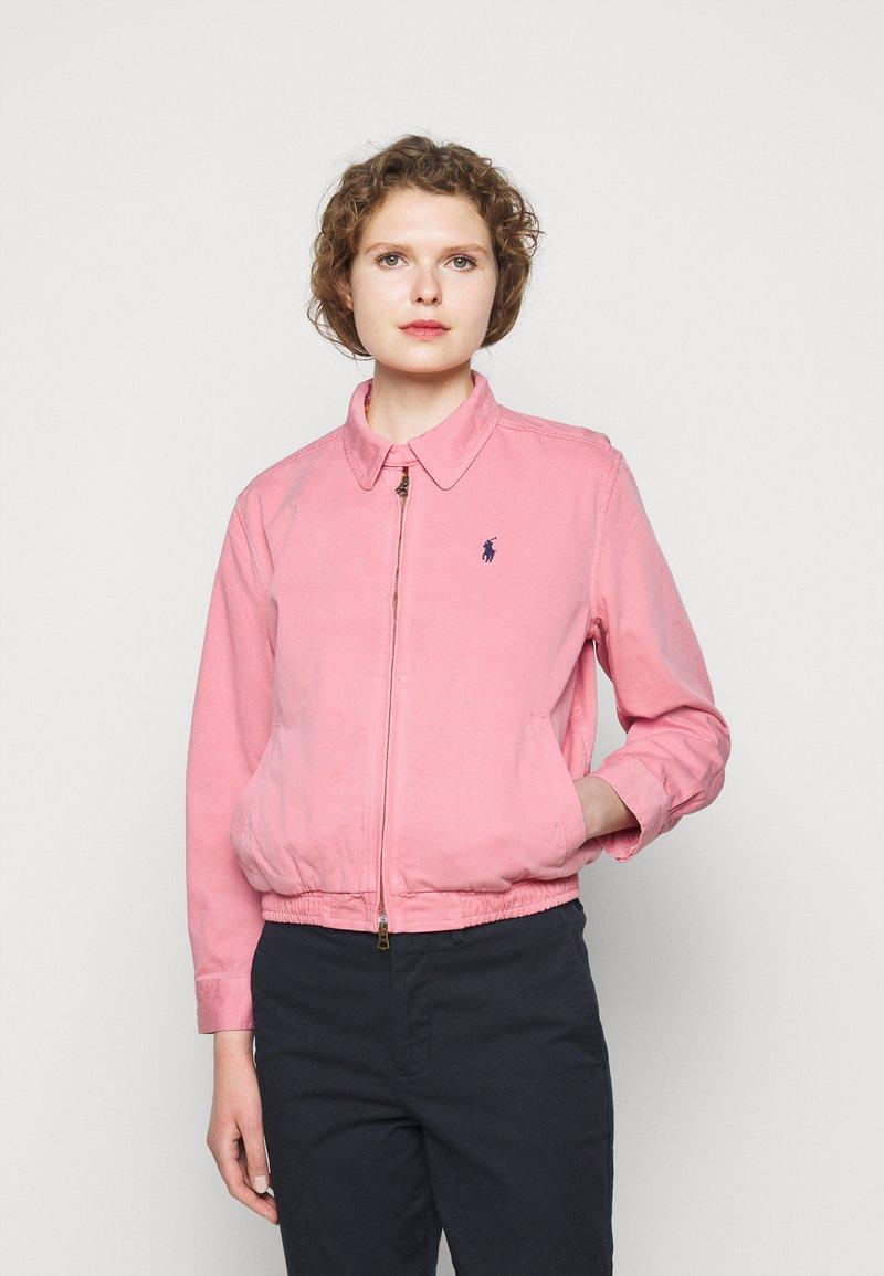 Polo Ralph Lauren - MONTAUK - Džínová bunda - ribbon pink
