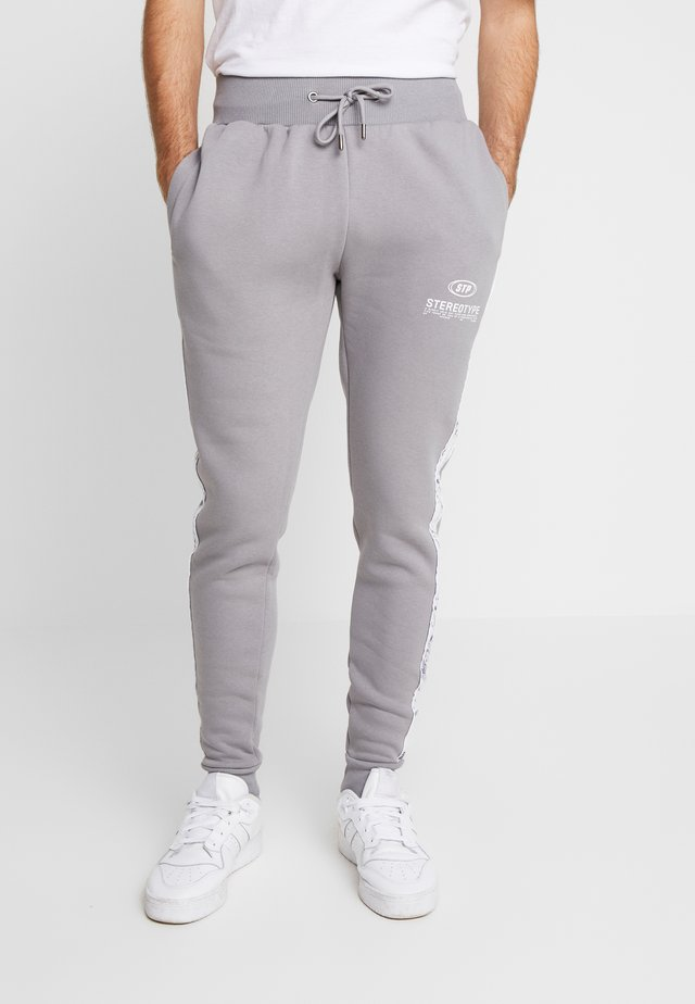 CHROME  - Tracksuit bottoms - grey