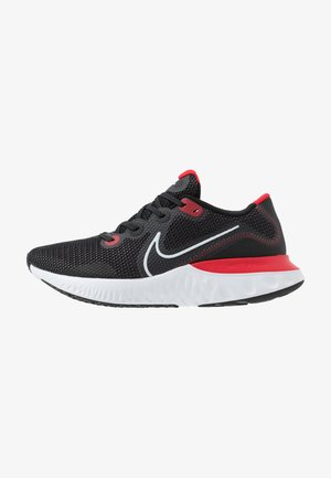 RENEW RUN - Neutral running shoes - black/white/university red