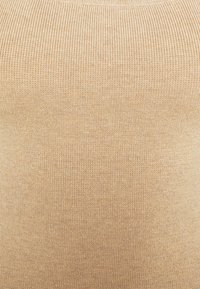 Abercrombie & Fitch - RIBBED NECK MIDI - Vestido de punto - neutral brown - 2