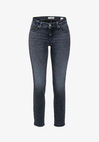 Cambio - PARIS ANCLE CUT - Slim fit jeans - blue/black - 0