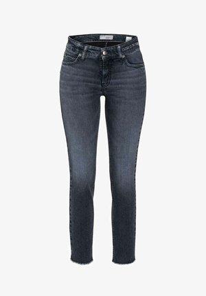 PARIS ANCLE CUT - Slim fit jeans - blue/black