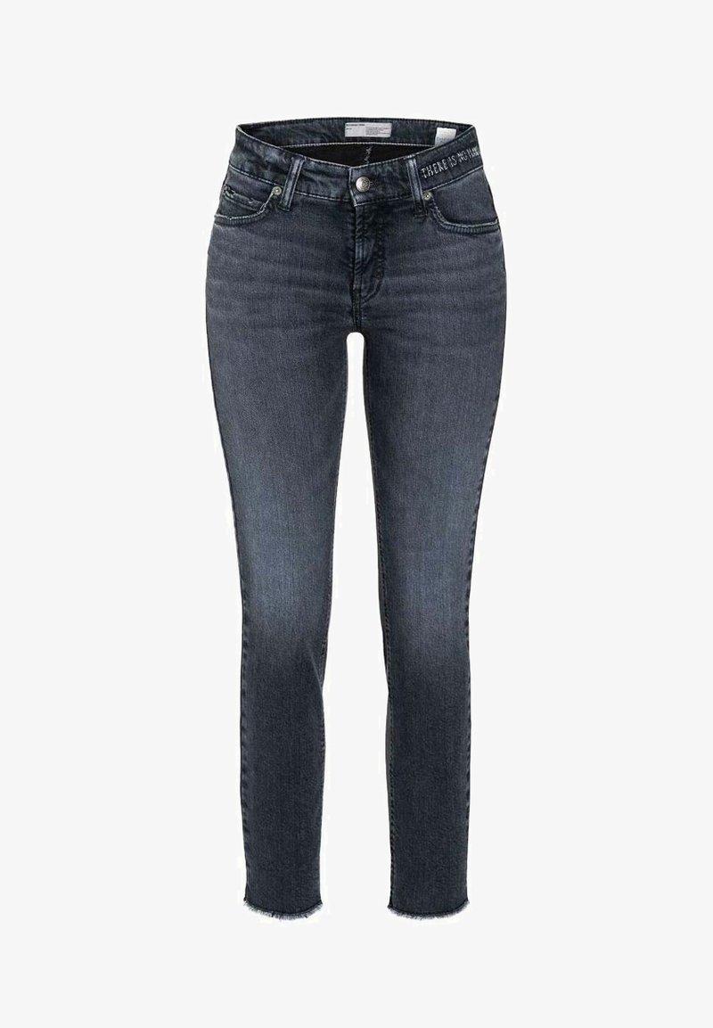 Cambio - PARIS ANCLE CUT - Slim fit jeans - blue/black
