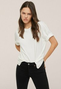Mango - Jeans Skinny Fit - black denim - 3