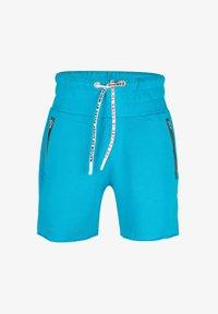 ONCE WE WERE WARRIORS - Shorts - blau - 0