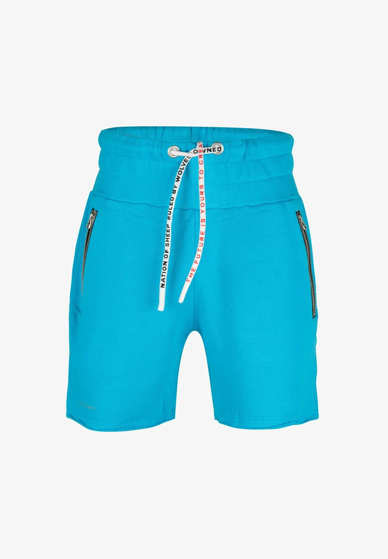 ONCE WE WERE WARRIORS - Shorts - blau
