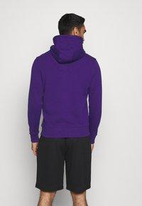 Fanatics - NFL BALTIMORE RAVENS GLOW CORE GRAPHIC HOODIE - Club wear - purple - 2