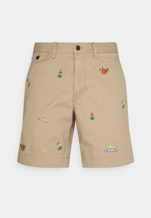 Shorts - boating khaki
