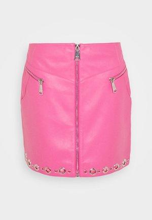 MOISE SKIRT - Spódnica mini - radical pink