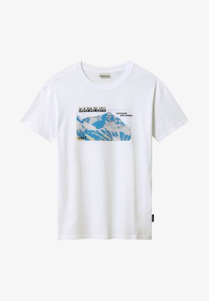 SULE - T-shirt print - white graphic