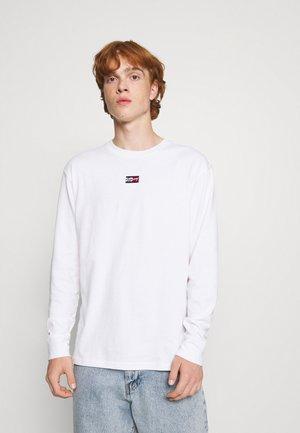 TINY SCRIPT TEE - Camiseta de manga larga - white