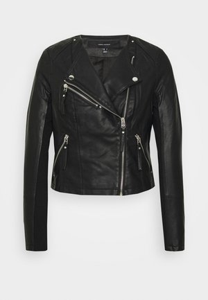 VMRIAFAVO  - Faux leather jacket - black
