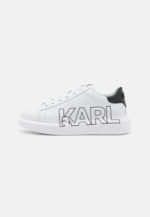 KAPRI OUTLINE LOGO - Sneaker low - white