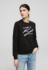 KARL LAGERFELD - Sweatshirt - black - 0