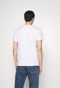 Hollister Co. - PRINT LOGO - Print T-shirt - white - 2