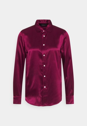 CHARMEUSE - Button-down blouse - classic wine