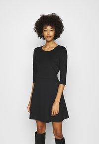 GAP - PONTE DRESS - Jumper dress - true black - 0