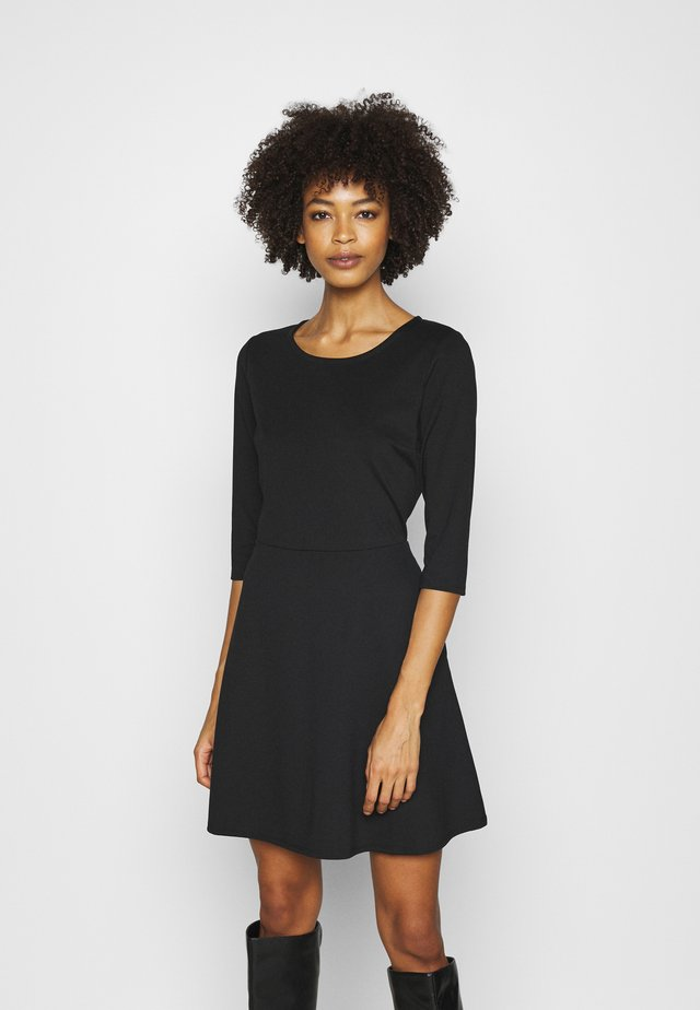 PONTE DRESS - Jumper dress - true black