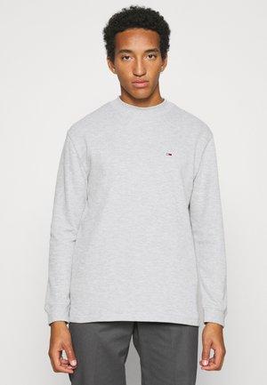 MOCK NECK SNIT - Trui - light grey heather