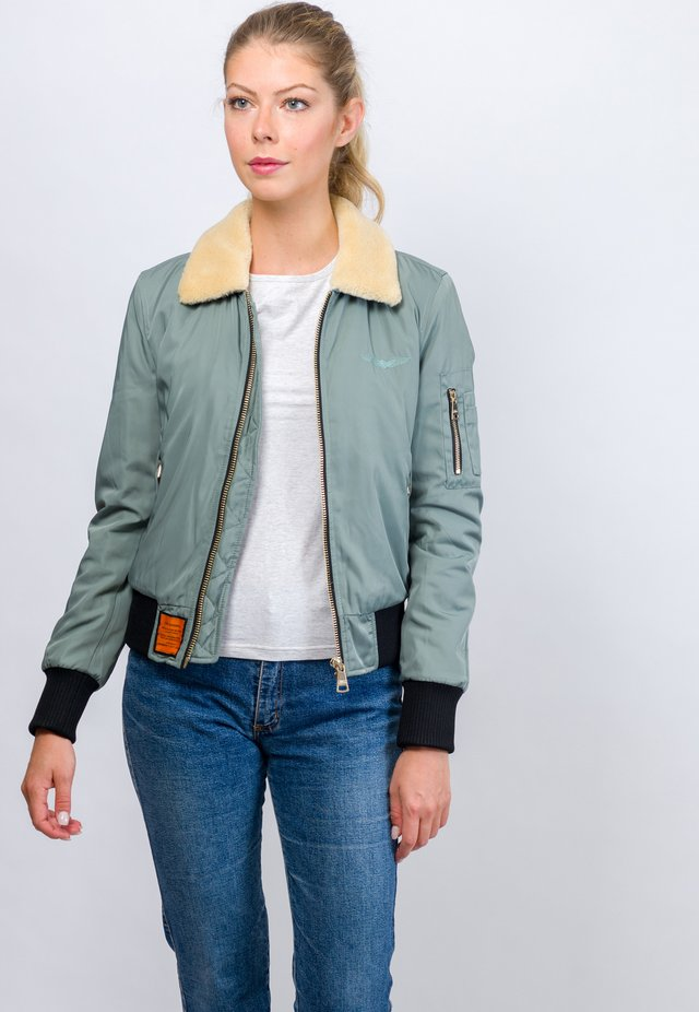 BARCELONE - Light jacket - green