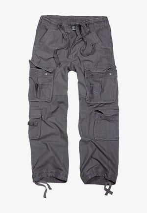 Pantaloni cargo - charcoal