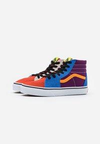 Vans - SK8 - High-top trainers - grape juice/bright marigold - 1
