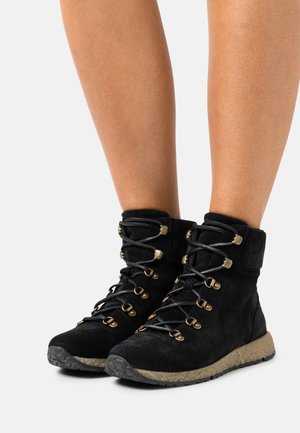 CECILY - Lace-up ankle boots - black