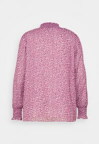 Forever New Curve - SHIRLEY HIGH NECK BLOUSE - Pusero - ruby winter speckle - 1