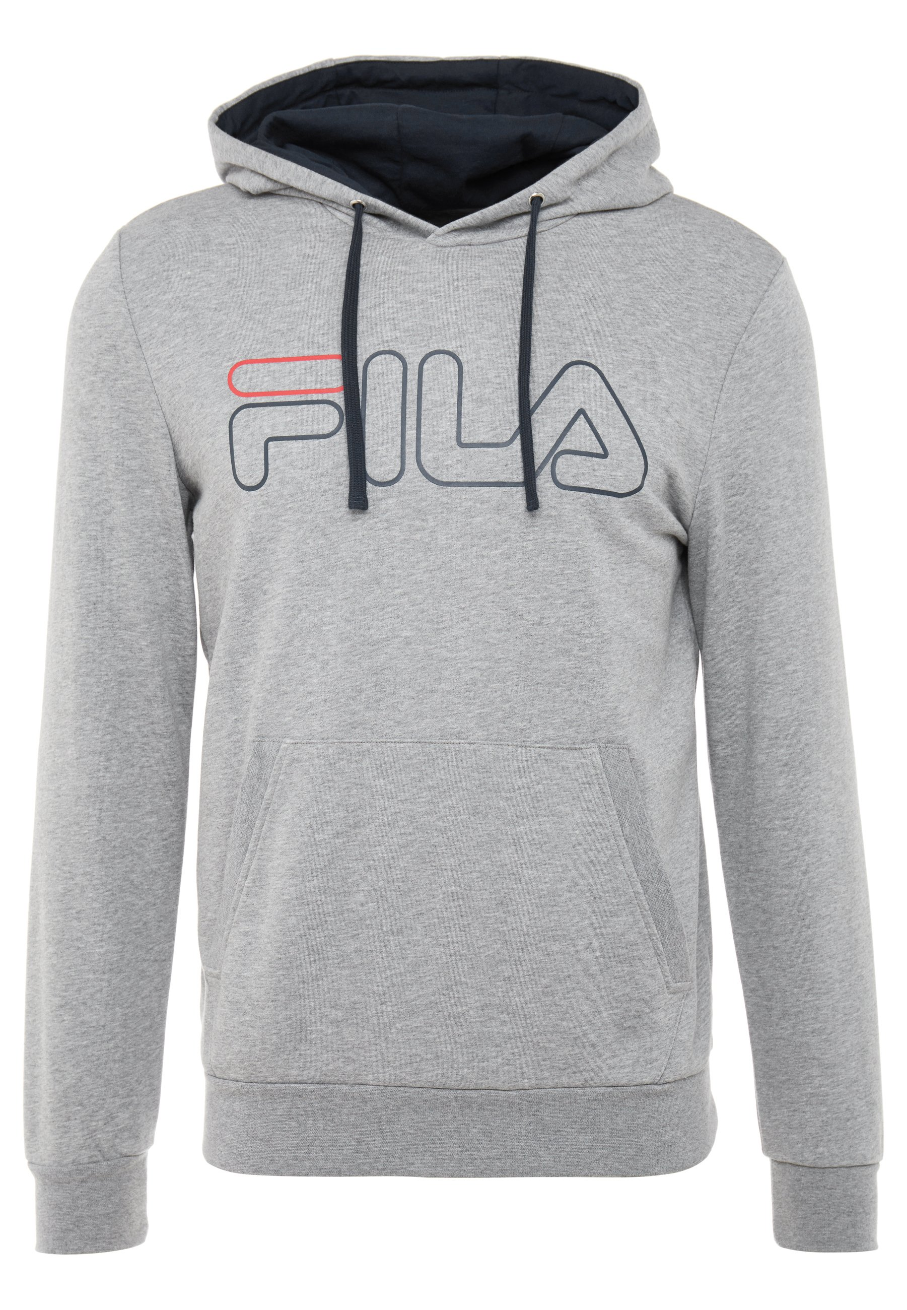 Fila HOODY WILLIAM - Sweat à capuche - light grey melange
