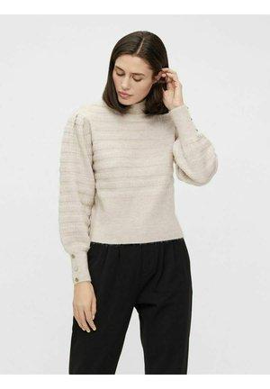 Pullover - silver gray
