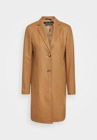 SINGLE BREASTED WELT POCKETS - Classic coat - true camel