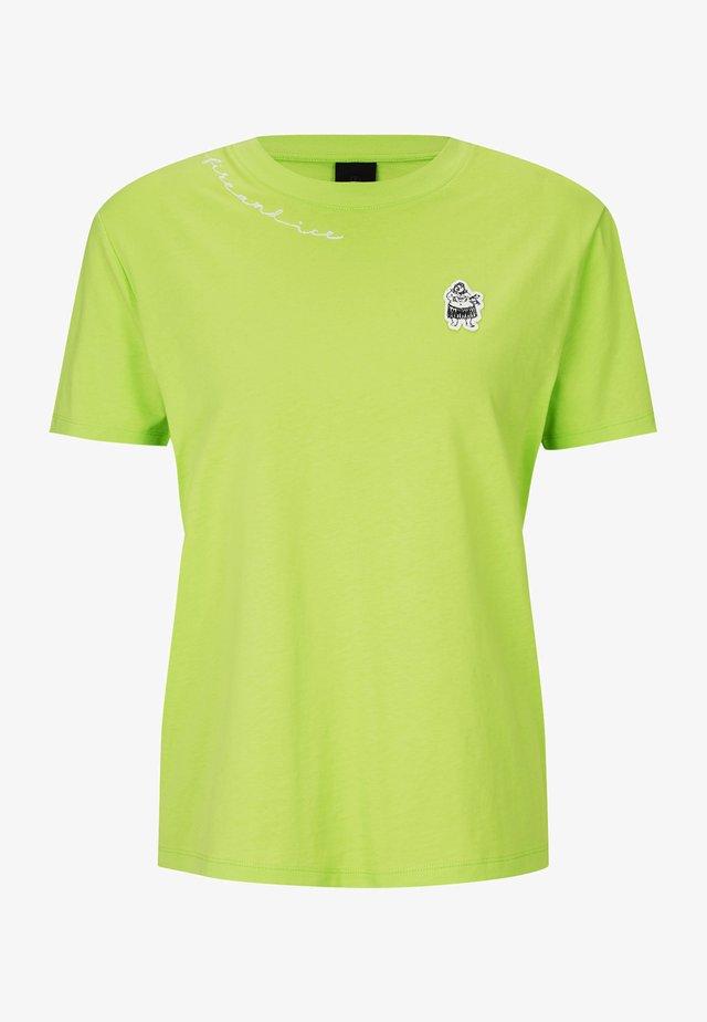 CARRIE - T-shirt imprimé - lime