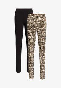 WE Fashion - 2 PACK - Leggings - multi coloured - 4