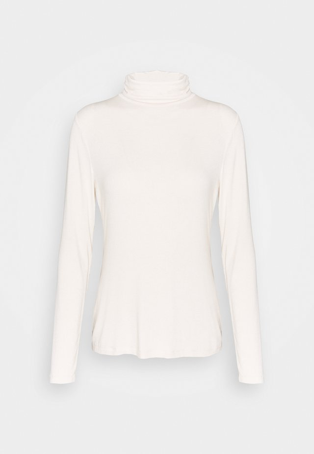LAYERING NECK - Topper langermet - white