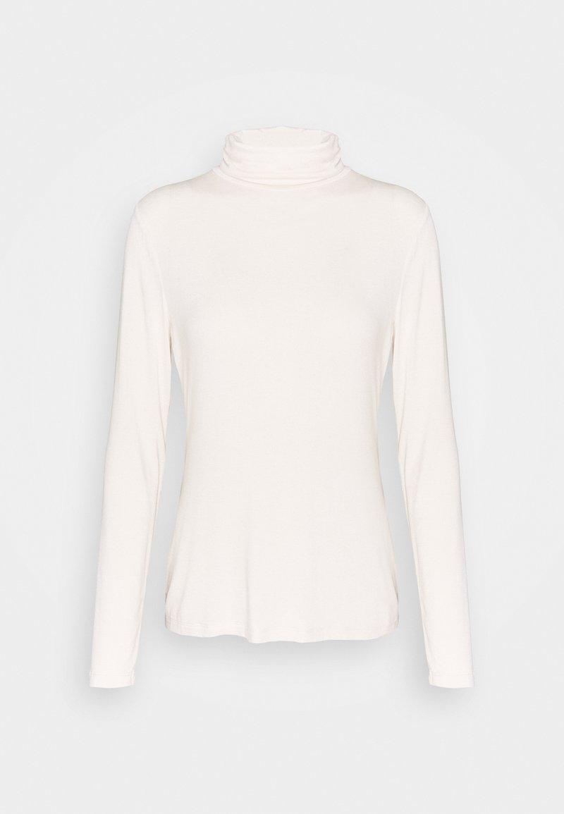 Banana Republic - LAYERING NECK - Long sleeved top - white