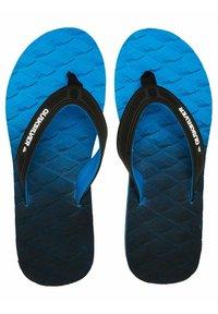 Quiksilver - MASSAGE  - Pool shoes - black/blue/grey - 2