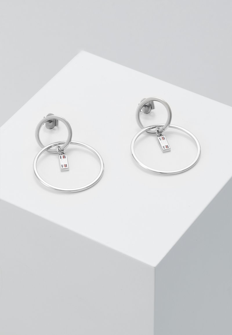 Tommy Hilfiger - DRESSEDUP - Pendientes - silver-coloured