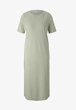Jersey dress - light dusty green