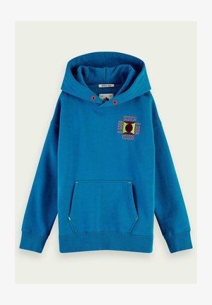 WITH EMBROIDERED DETAIL - Sweatshirt - electric blue