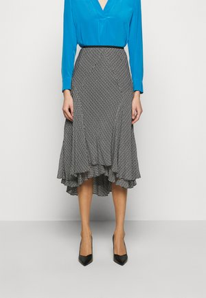 DEBRA - A-line skirt - clockwork black