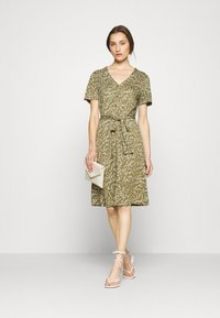 Freequent - Day dress - burnt olive mix - 1
