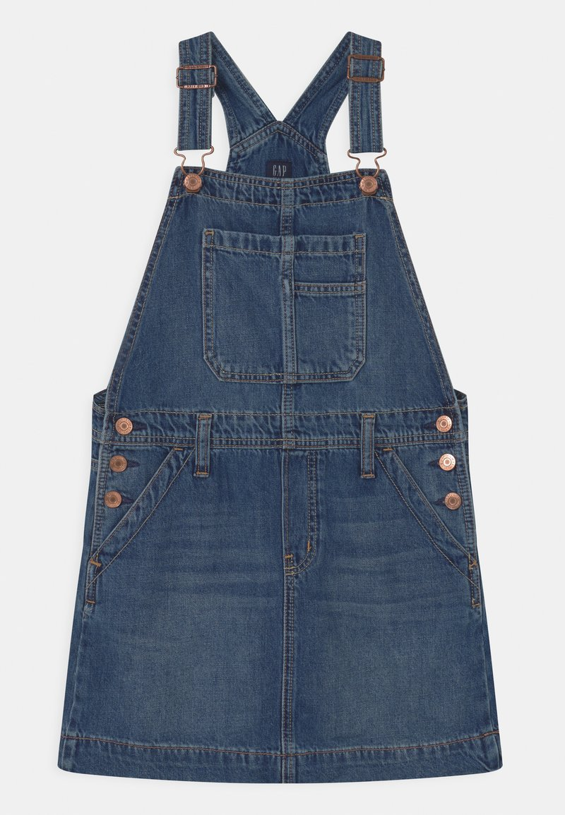 GAP - GIRL - Robe en jean - medium indigo
