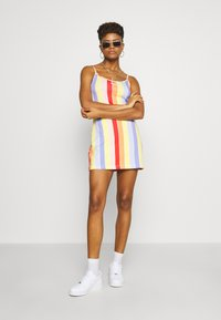 Nike Sportswear - RETRO FEMME DRESS - Jersey dress - track red - 1