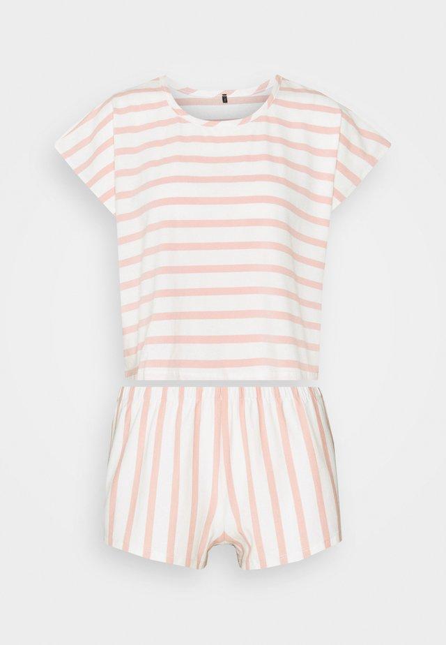 Pyjama - rose/white
