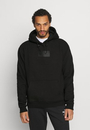 SMALL SIGNATURE BOX HOODIE UNISEX  - Sweatshirt - black