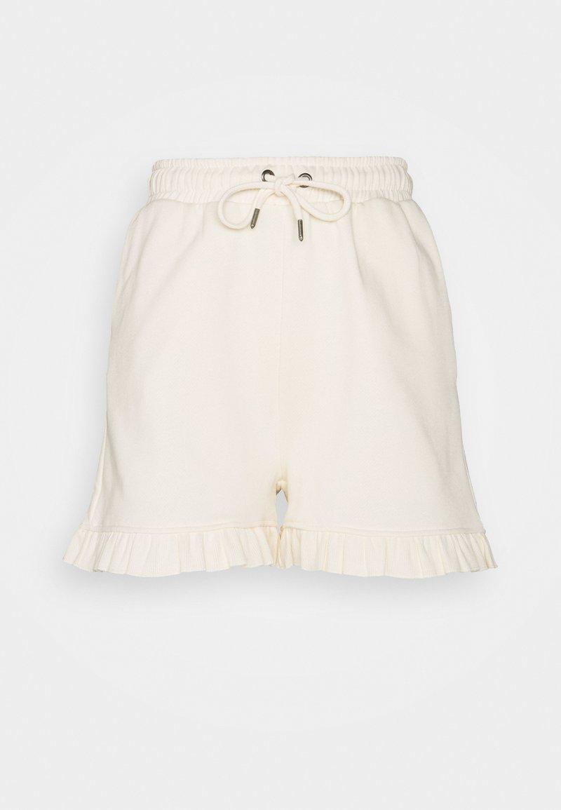 Bruuns Bazaar - RUBINE MASCH - Shorts - white cream